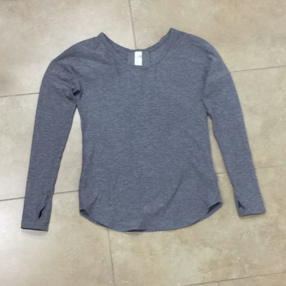 feb25f241 lululemon athletica Shirts & Tops | Girls Ivivva Long Sleeve Top ...